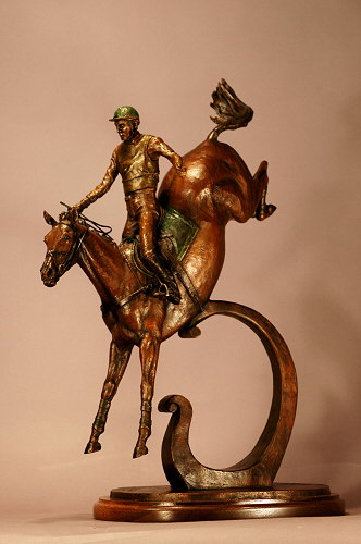 Bronze Alive - featuring equine, wildlife, domestic animal and figurative bronze sculptures by artist Kathleen Friedenberg